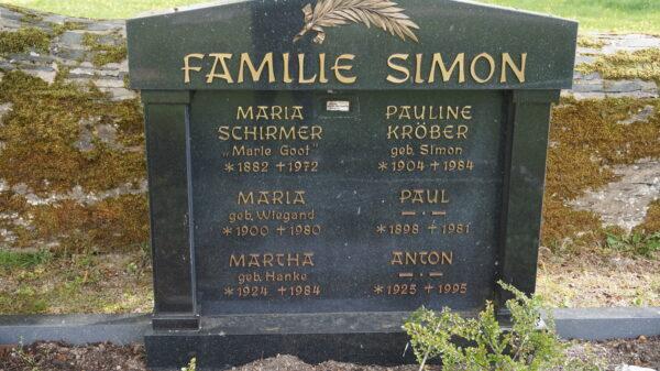 Drehorte HEIMAT: Die Film-Gräber der Familie Simon